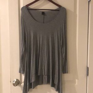 Grey size Large cotton long sleeve